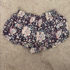 Pants - Flower shorts